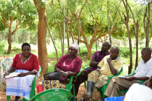 The Water Project: Mukuku Community A -  Training Participants