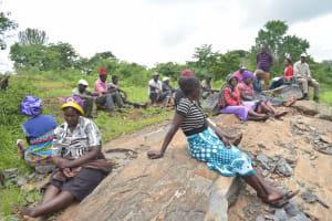 The Water Project: King'ethesyoni Community -  Shg Members