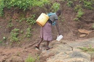 The Water Project: King'ethesyoni Community -  Walking Home With Water
