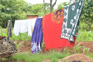 The Water Project: King'ethesyoni Community -  Clothesline