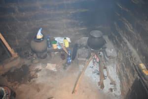 The Water Project: King'ethesyoni Community -  Inside Kitchen