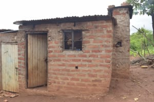 The Water Project: King'ethesyoni Community A -  Kitchen Building