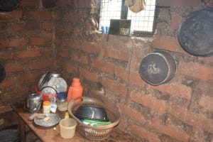 The Water Project: King'ethesyoni Community A -  Pots Hanging In Kitchen