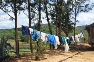 The Water Project: Nduumoni Community -  Clothesline