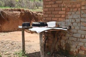 The Water Project: Nduumoni Community -  Dish Drying Rack
