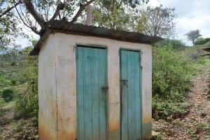 The Water Project: Nduumoni Community -  Latrine
