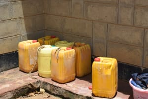 The Water Project: Nduumoni Community -  Water Storage Containers