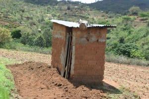 The Water Project: Nduumoni Community A -  Latrine