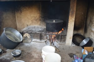 The Water Project: Kaketi Secondary School -  Inside Kitchen