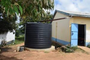 The Water Project: Kaketi Secondary School -  Small Rainwater Tank