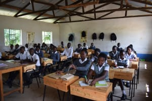 The Water Project: Kaketi Secondary School -  Students In Class
