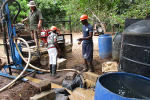 The Water Project: Mathem Community -  Drilling