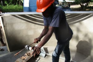 The Water Project: Mathem Community -  Pump Installation