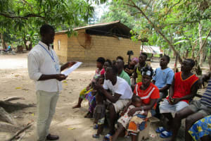 The Water Project: Mathem Community -  Trainer And Community Members