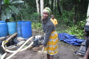The Water Project: Mathem Community -  Well Ground Breaking
