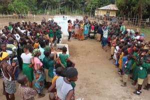 The Water Project: Lokomasama, Menika, DEC Menika Primary School -  Dedication Attendees