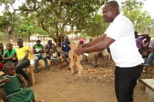 The Water Project: Lokomasama, Menika, DEC Menika Primary School -  Diarrhea Doll