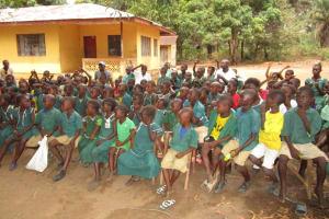 The Water Project: Lokomasama, Menika, DEC Menika Primary School -  Students