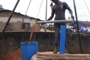 The Water Project: Lungi, Masoila, #3 Kamara Street -  Bailing