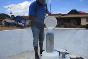 The Water Project: Lungi, Masoila, #3 Kamara Street -  Chlorination