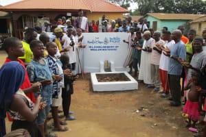 The Water Project: Lungi, Masoila, #3 Kamara Street -  Community Member Praying For Miralem