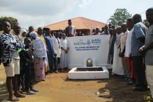 The Water Project: Lungi, Masoila, #3 Kamara Street -  Community Members At The New Well