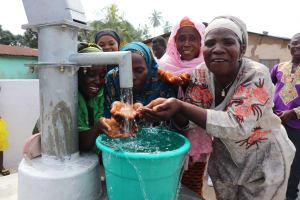 The Water Project: Lungi, Masoila, #3 Kamara Street -  Community Women Celebrating