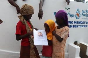 The Water Project: Lungi, Masoila, #3 Kamara Street -  Kids Looking At Miralems Picture
