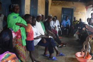 The Water Project: Lungi, Masoila, #3 Kamara Street -  Lesson On Diarrhea And The Spread Of Diseases