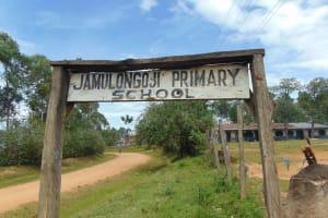 The Water Project: Jamulongoji Primary School -  School Signage