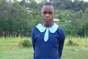 The Water Project: Kabinjari Primary School -  School Head Girl Purity