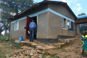 The Water Project: St. Peters Bwanga Primary School -  Staffroom