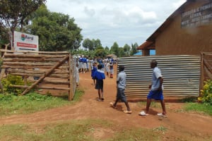 The Water Project: Saosi Primary School -  School Gate