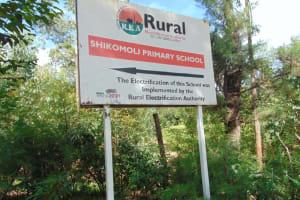 The Water Project: Shikomoli Primary School -  Schools Signpost