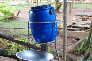 The Water Project: Kabinjari Primary School -  A Handwashing Station