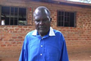 The Water Project: Namagara Primary School -  Teacher Mr Soita