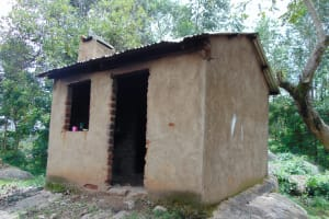 The Water Project: Galona Primary School -  Outside The Kitchen