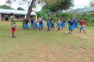 The Water Project: St. Joakim Buyangu Primary School -  Pupils Playing