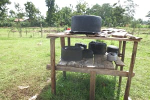 The Water Project: Mwikhupo Primary School -  Dishrack