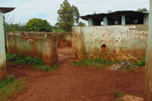 The Water Project: Kitagwa Primary School -  Boys Toilets And Urinal
