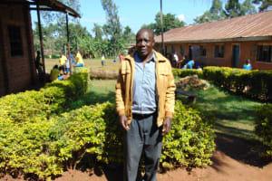 The Water Project: Gimomoi Primary School -  Head Teacher Mr Geoffrey Mukutsi