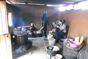 The Water Project: Friends School Manguliro Secondary -  Kitchen Staff Inside The Kitchen
