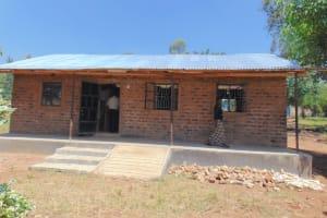 The Water Project: Jimarani Primary School -  Staffroom