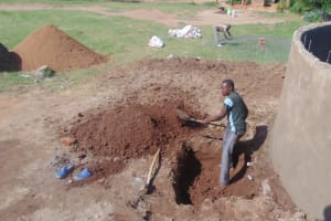 The Water Project: Kipchorwa Primary School -  Digging Access Point