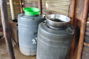 The Water Project: Friends Musiri Secondary School -  Water Storage In Kitchen