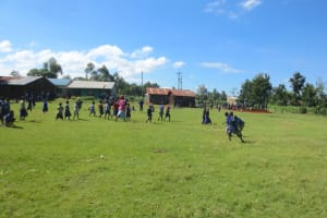 The Water Project: Mwikhupo Primary School -  Students On The Playground