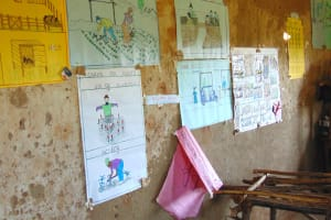 The Water Project: Gimomoi Primary School -  Charts Mounted On Classroom Walls