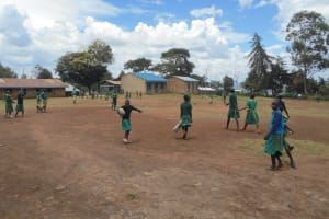 The Water Project: St. Peters Bwanga Primary School -  Student On Break Playing