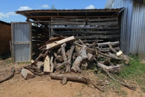 The Water Project: Friends School Manguliro Secondary -  Firewood Used For Cooking