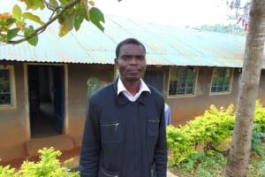 The Water Project: St. Joakim Buyangu Primary School -  Deputy Head Teacher Wycliffe Mukilingani